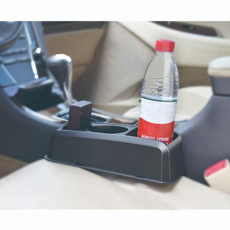 Πολυθήκη Καθίσματος με διπλή ποτηροθήκη - skroutz.com.cy