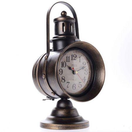 Vintage χειροποίητο διακοσμητικό ρολόι μεταλλικό 50205B - skroutz.com.cy