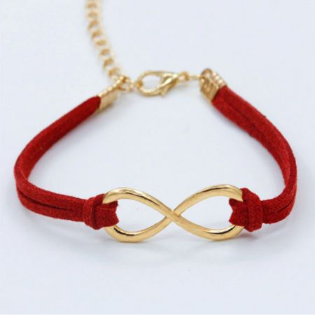Hot European Cheap Punk Fashion Vintage Infinity 8 Cross Leather Bracelets For Women Gift Bangles Men Jewelry pulseras - skroutz.com.cy