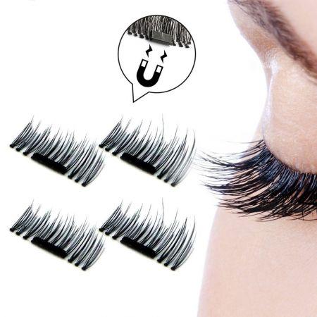 3D Μαγνητικές Βλεφαρίδες (Natural Long) - skroutz.com.cy