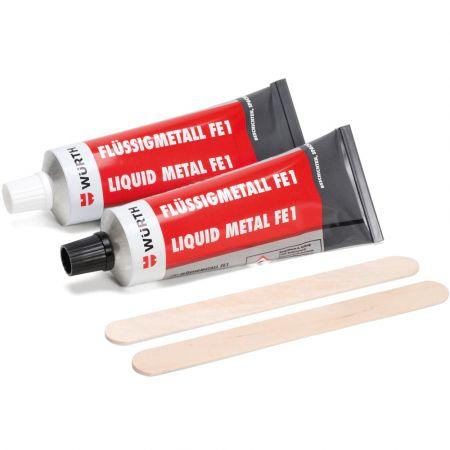 Würth Ρευστό Μέταλλο - Liquid Metal FE1 500g Repair Compound - skroutz.com.cy
