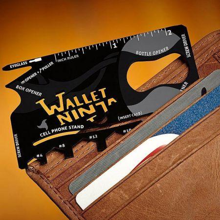 Έξυπνο πολυεργαλείο 18 σε 1 που σας λύνει τα χέρια - Wallet Ninja