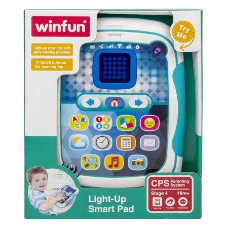 Παιδικό Tablet με Φωτάκια και Δραστηριότητες Πρώιμης Μαθησης - winfun 002272 Light-Up Smart Pad - 1203186