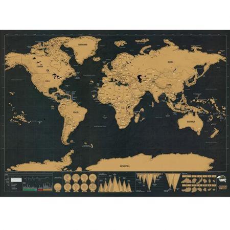 Παγκόσμιος Χάρτης Ξυστό - World Scratch Map
