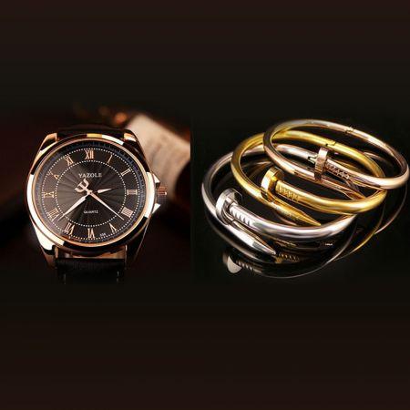 Ανδρικό Ρολόι YAZOLE & 1 Trendy Περικάρπιο