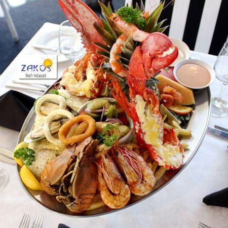 Ψαρομεζέδες 2 Ατόμων  στο Zakos Beach Restaurant-Λάρνακα