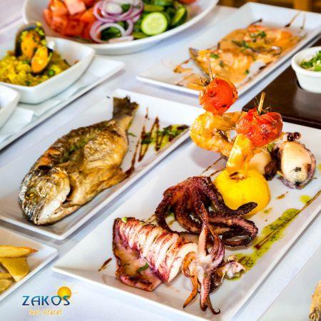 Ψάρι για 2 Άτομα στο Zakos Beach Restaurant - Λάρνακα