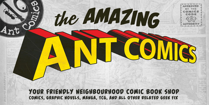 Ant Comics - Λευκωσία!