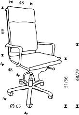 Rocada Executive Office Chairs 986 - Skroutz.com.cy