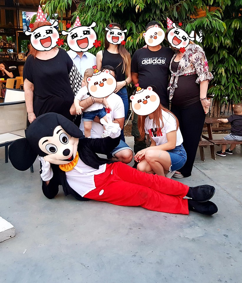 The Orange Balloon Kids Entertainment Cyprus - Mickey Mouse