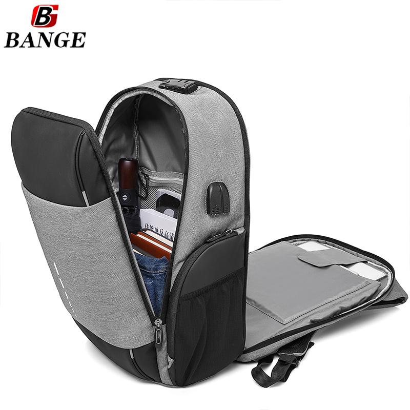 Επαγγελματικό Αντικλεπτικό Σακίδιο Πλάτης Με TSA Lock - Anti Theft Business Travel Laptop School Backpack Γκρι Grey - skroutz.com.cy