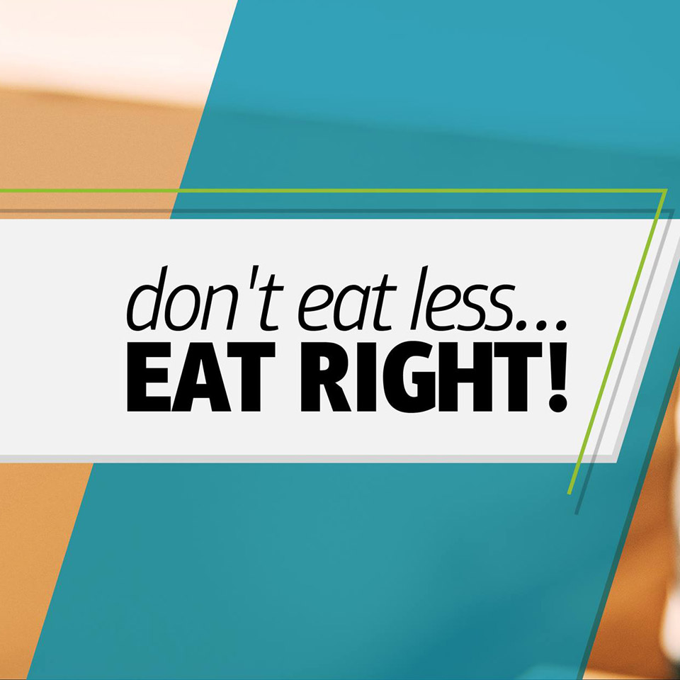 don't eat less eat right - change eat - whatsoncyprus